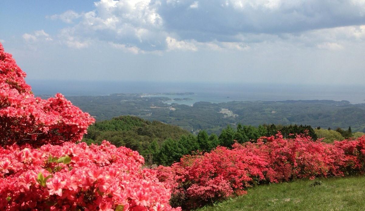 來自田束山的風景